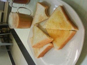 Roti Kawin, Teh tarik